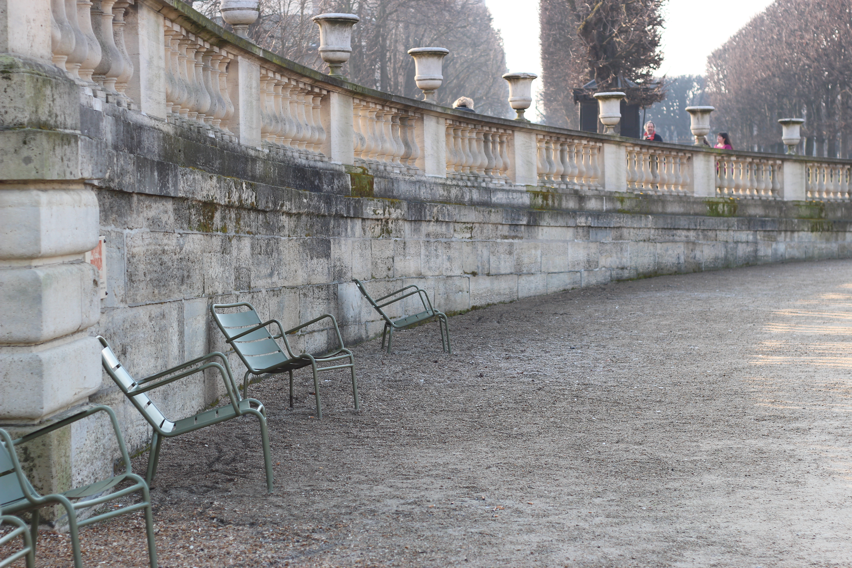 A morning in Jardin du Luxembourg