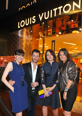 Oh la class comes to Warsaw! The opening of Louis Vuitton.
