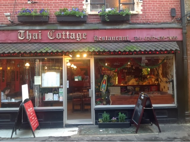 When in London, come to Thai Cottage