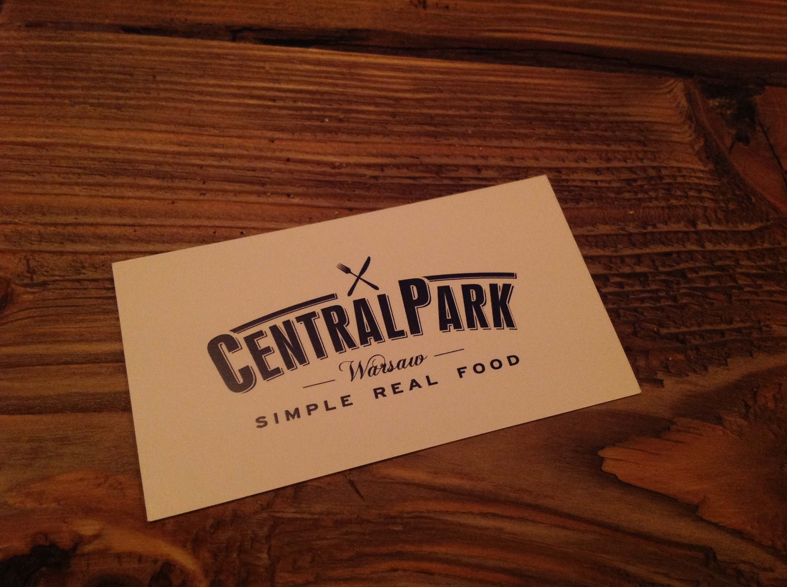A rare find: Central Park Warsaw